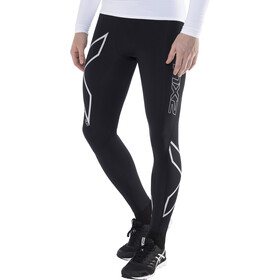 2XU Ignite Compression Tights long Herrer, black/silver reflective